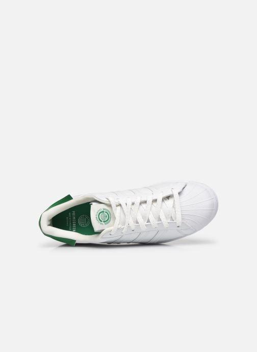 Sneaker adidas originals Superstar M weiß ansicht von links