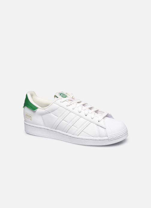 Sneakers adidas originals Superstar M Hvid detaljeret billede af skoene