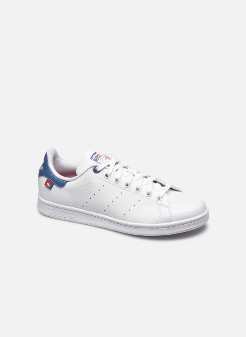 Baskets adidas originals Stan Smith eco-responsable M Blanc vue détail/paire