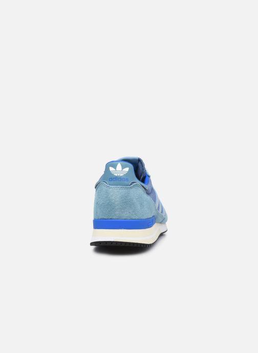 Sneaker adidas originals Zx 500 M blau ansicht von rechts