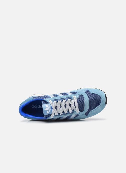 Sneaker adidas originals Zx 500 M blau ansicht von links