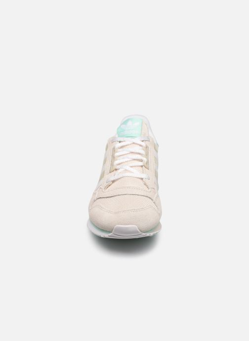 Sneaker adidas originals Zx 500 W beige schuhe getragen