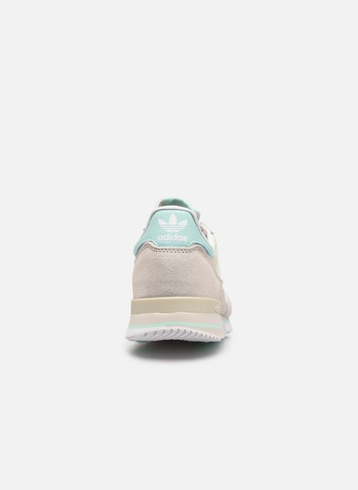 Sneaker adidas originals Zx 500 W beige ansicht von rechts