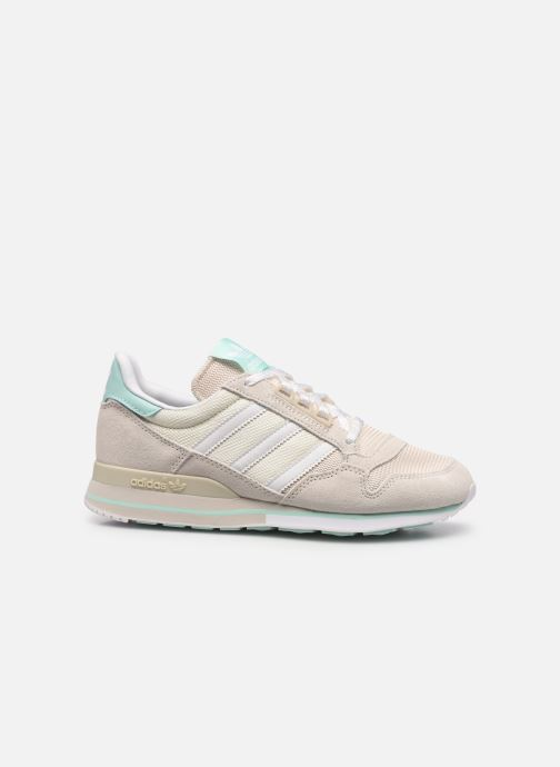 Sneaker adidas originals Zx 500 W beige ansicht von hinten