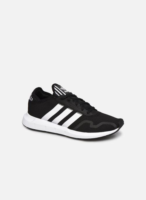 Chaussures de sport adidas originals Swift Run X M Noir vue détail/paire