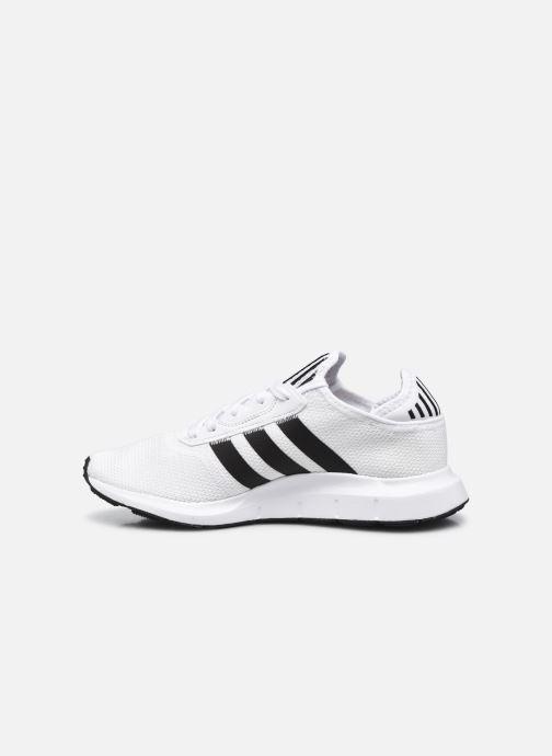 Sportschuhe adidas originals Swift Run X M weiß ansicht von vorne