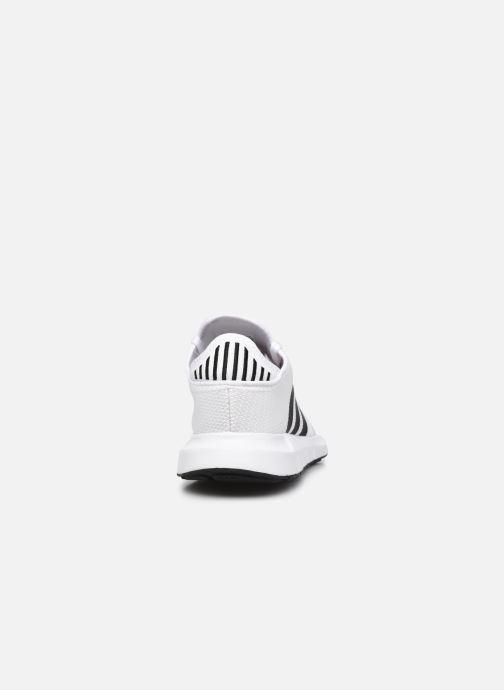 Sportschuhe adidas originals Swift Run X M weiß ansicht von rechts