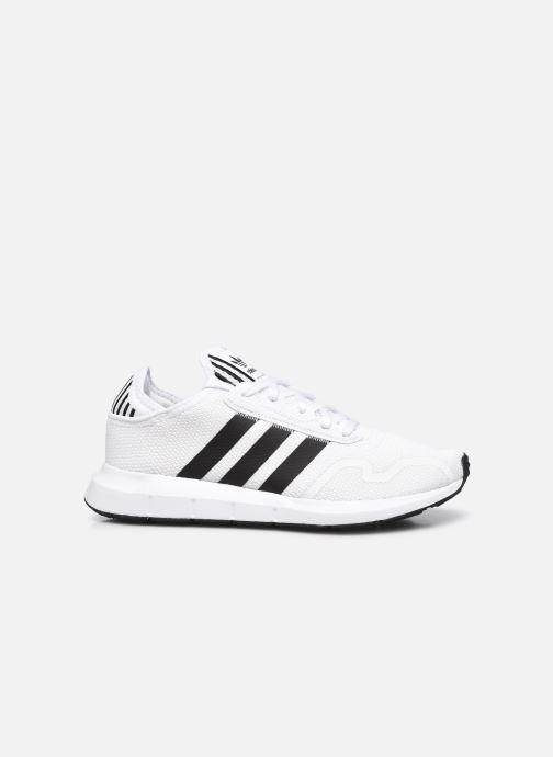 Sportschuhe adidas originals Swift Run X M weiß ansicht von hinten