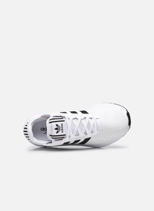 Sportschuhe adidas originals Swift Run X M weiß ansicht von links