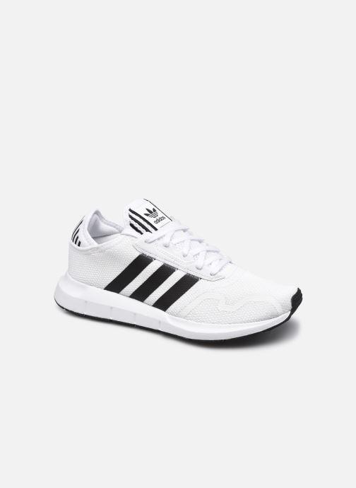 Sportschoenen adidas originals Swift Run X M Wit detail