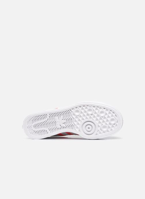 Sneaker adidas originals Nizza Platform W weiß ansicht von oben
