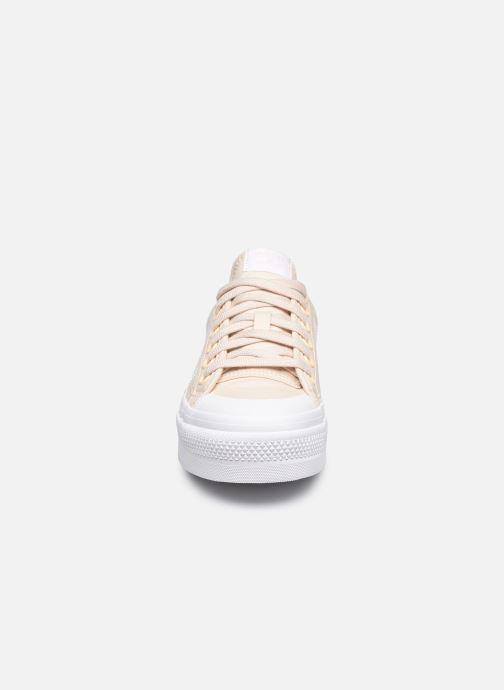 Sneaker adidas originals Nizza Platform W beige schuhe getragen