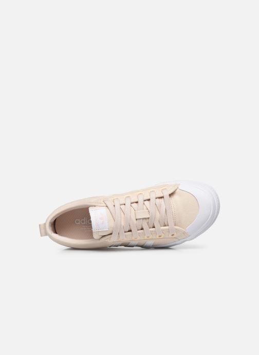 Sneaker adidas originals Nizza Platform W beige ansicht von links