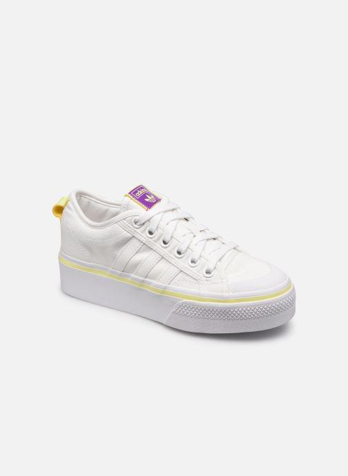 Sneaker adidas originals Nizza Platform W weiß detaillierte ansicht/modell
