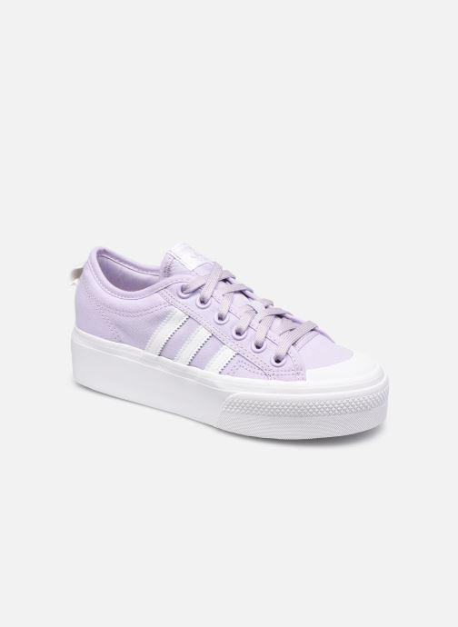 Sneaker adidas originals Nizza Platform W rosa detaillierte ansicht/modell