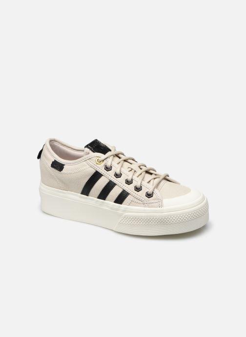 Sneaker adidas originals Nizza Platform W beige detaillierte ansicht/modell