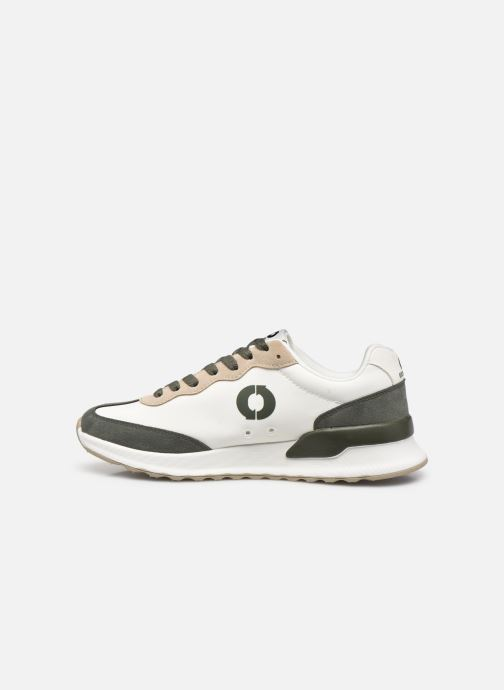 Baskets Ecoalf Prince Sneakers Woman Blanc vue face