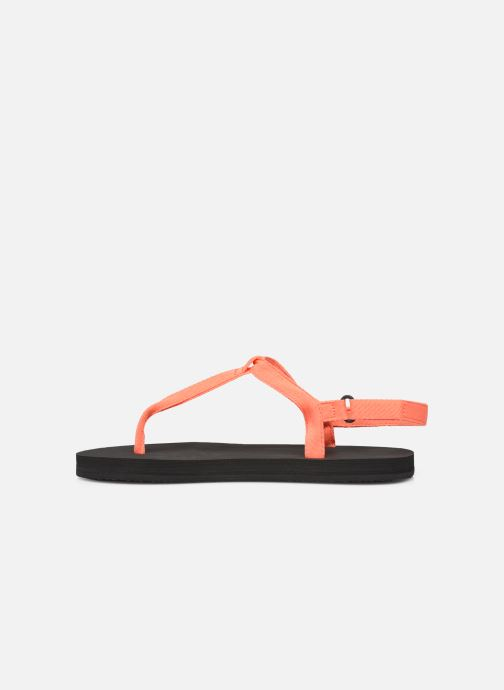 Sandalen Ecoalf Malta Sandals Woman orange ansicht von vorne