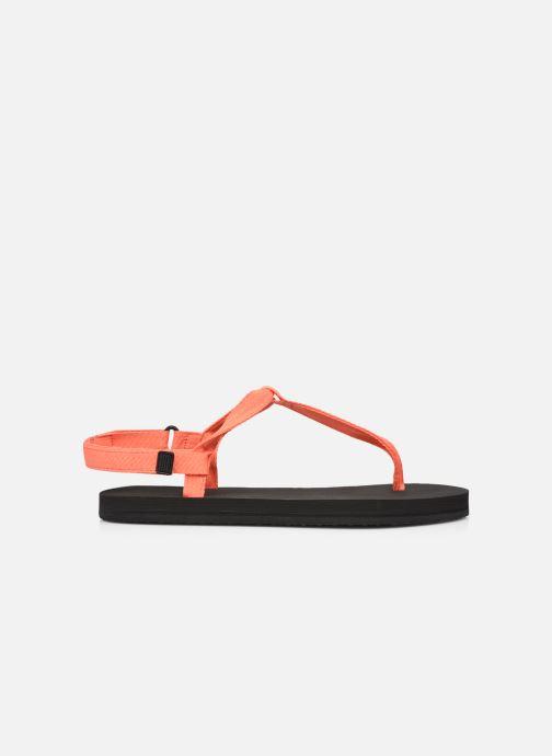 Sandalen Ecoalf Malta Sandals Woman orange ansicht von hinten