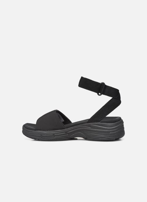 Sandales et nu-pieds Ecoalf Hawai Sandals Woman Noir vue face