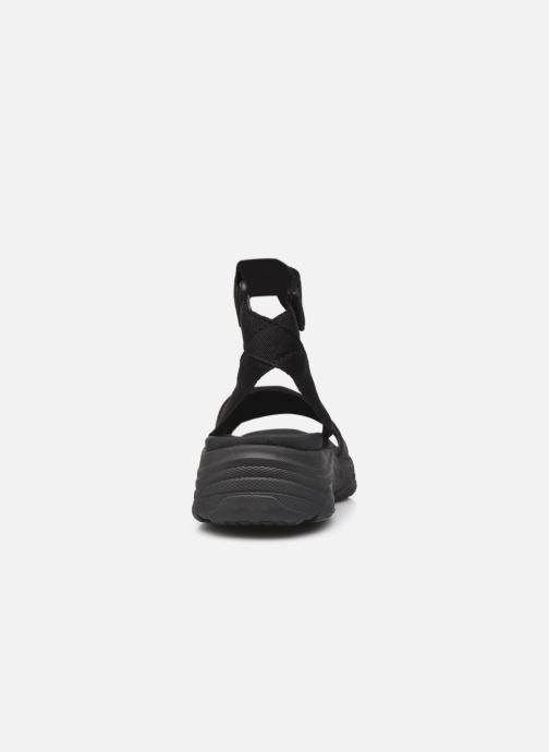 Sandales et nu-pieds Ecoalf Hawai Sandals Woman Noir vue droite