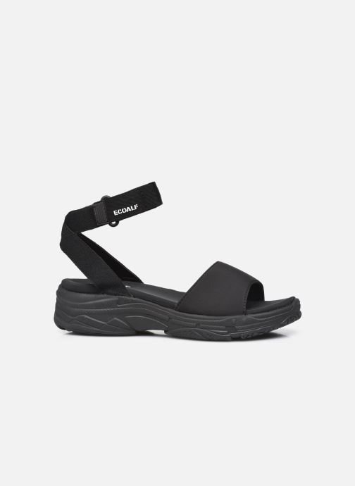 Sandales et nu-pieds Ecoalf Hawai Sandals Woman Noir vue derrière