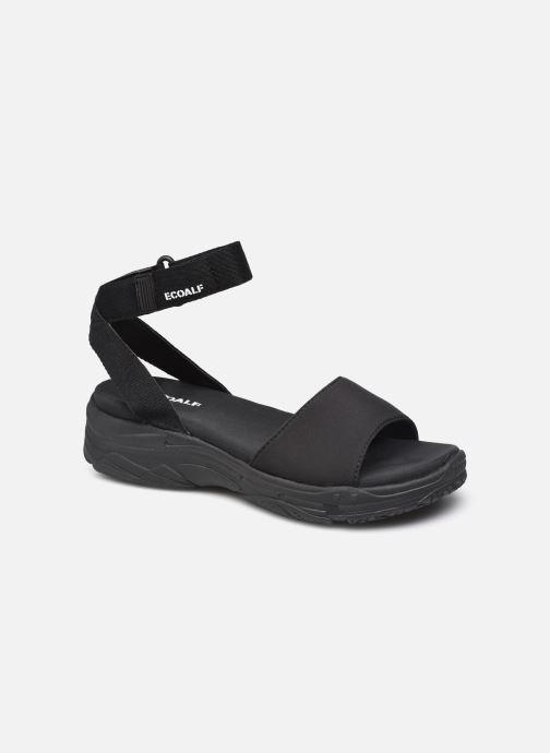 Sandales et nu-pieds Ecoalf Hawai Sandals Woman Noir vue détail/paire