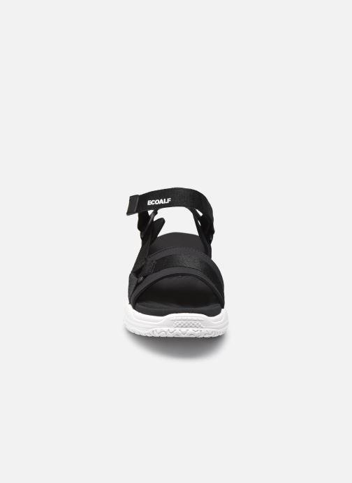 Sandalen Ecoalf Sofia Sandals Woman schwarz schuhe getragen