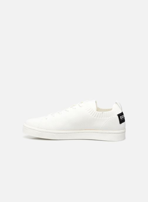 Sneaker Ecoalf Sandford Knit Sneakers Man weiß ansicht von vorne