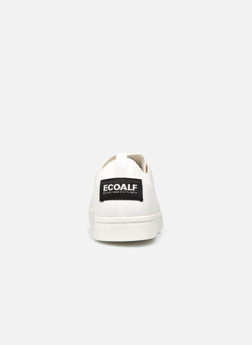 Sneaker Ecoalf Sandford Knit Sneakers Man weiß ansicht von rechts