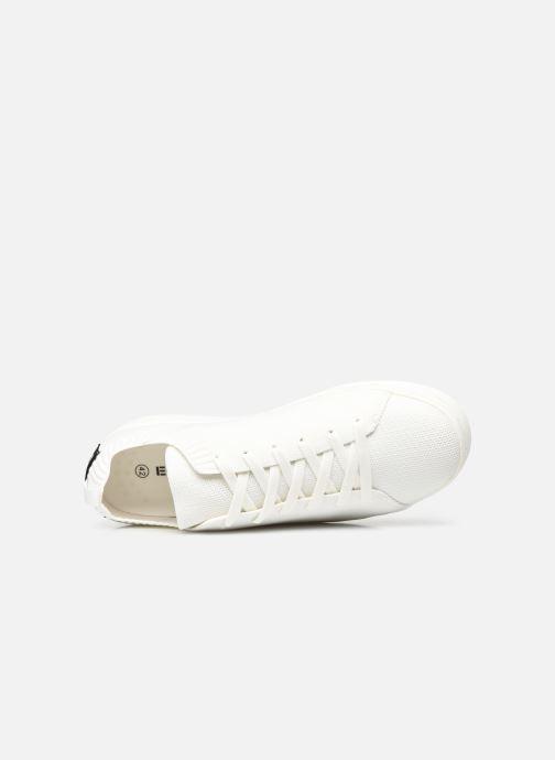 Sneaker Ecoalf Sandford Knit Sneakers Man weiß ansicht von links