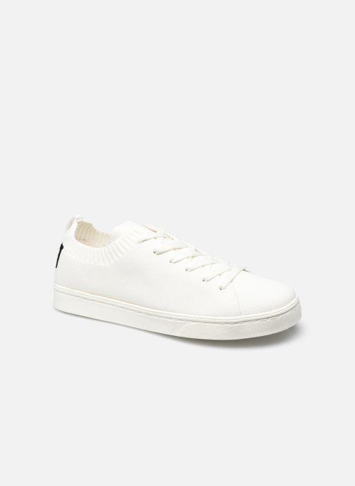 Baskets Ecoalf Sandford Knit Sneakers Man Blanc vue détail/paire