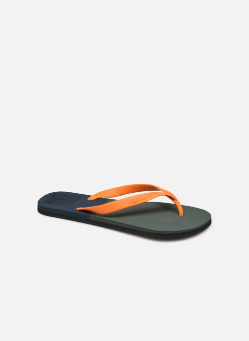 Slippers Ecoalf Bicolor Flip Flop Man Groen detail