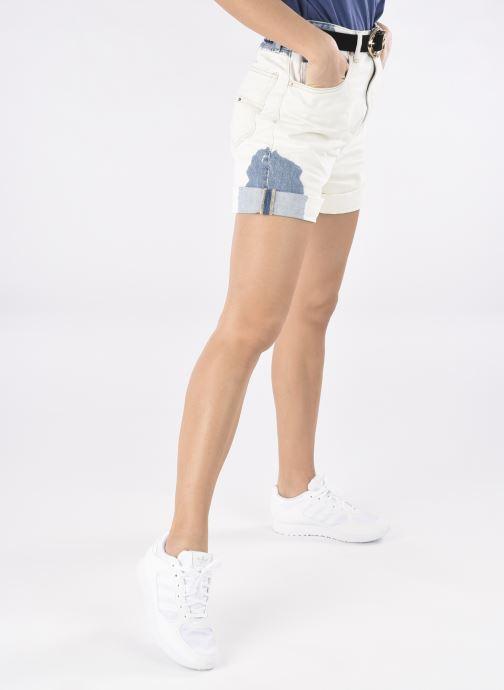 Sneaker adidas originals Special 21 W weiß ansicht von unten / tasche getragen