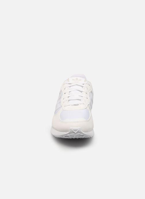 Sneaker adidas originals Special 21 W weiß schuhe getragen