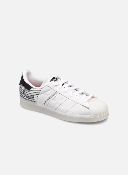 Sneaker adidas originals Superstar Primeblue W weiß detaillierte ansicht/modell