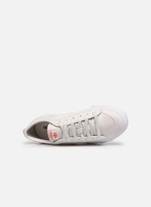 Baskets adidas originals Nizza  Trefoil W Blanc vue gauche