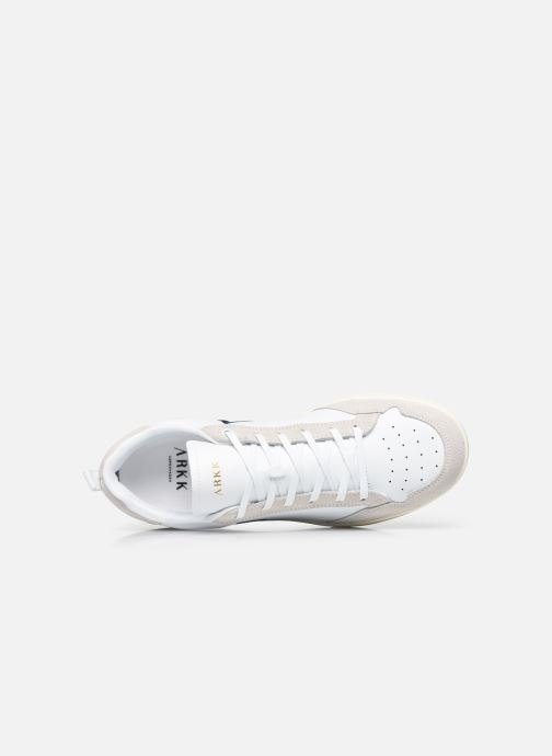 Sneakers Arkk Copenhagen Visuklass Leather Suede M Wit links