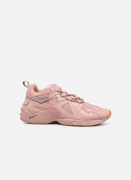 Sneakers Arkk Copenhagen Tuzon Suede W Roze achterkant