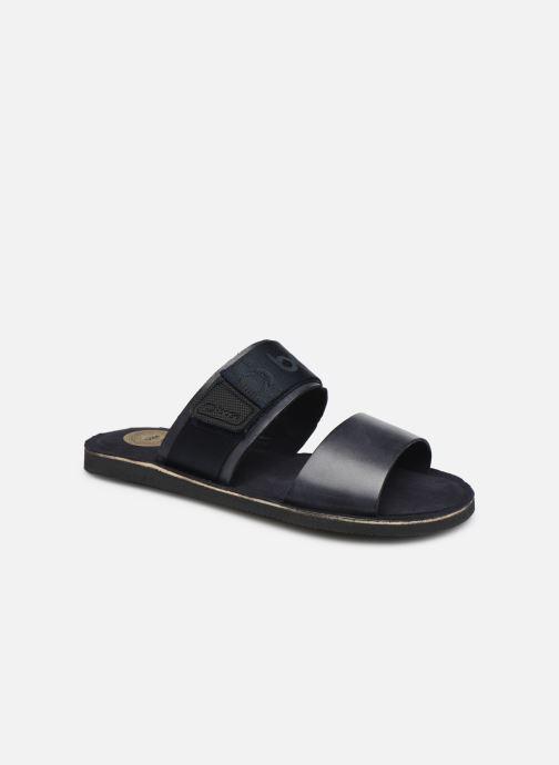Sandales et nu-pieds Base London KATSU Bleu vue détail/paire