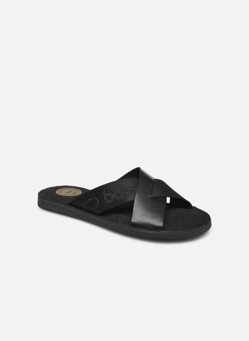 Sandalen Base London MISO schwarz detaillierte ansicht/modell