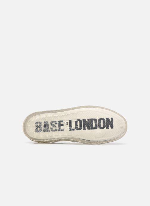 Baskets Base London NEON Bleu vue haut