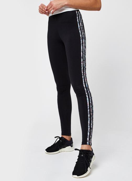 Vêtements adidas originals Mid Rise Tight Noir vue détail/paire