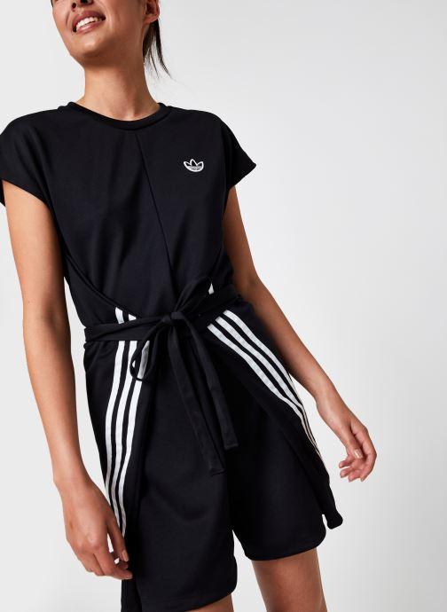 Kleding adidas originals Short Jumpsuit Zwart detail
