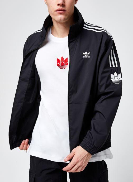 Vêtements adidas originals 3D Tf 3 Strp Tt Noir vue détail/paire