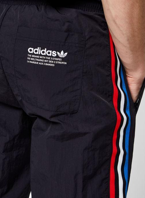 Vêtements adidas originals Tricol Tp Noir vue face