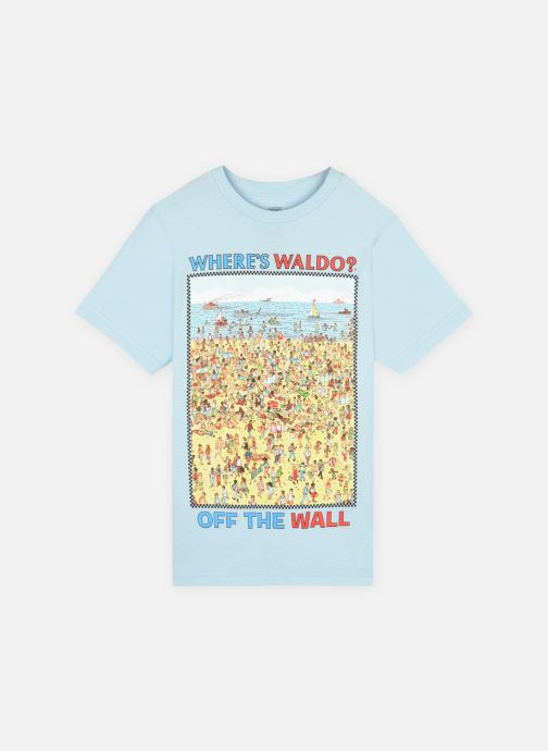 Vans X Wheres Waldo Beach Ss Boys