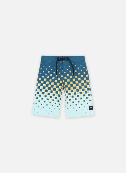 Kleding Vans Checker Fade Boardshort Boys Multicolor detail