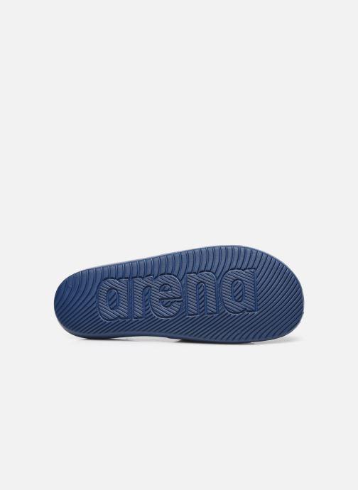 Sandales et nu-pieds Arena Mario Bleu vue haut