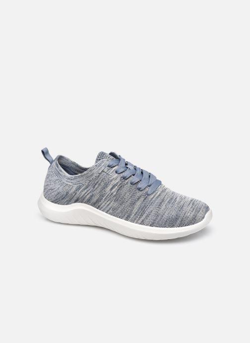 Sneaker Cloudsteppers by Clarks Nova Glint blau detaillierte ansicht/modell